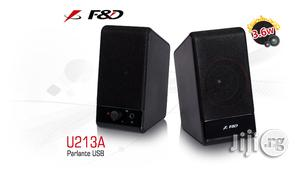 F&D U213A 2.0 Multimedia Portable Speakers | Audio & Music Equipment for sale in Lagos State, Ikeja