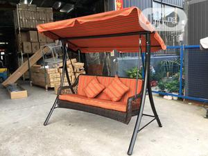 3seater Garden Swing Chair   Furniture for sale in Lagos State, Surulere