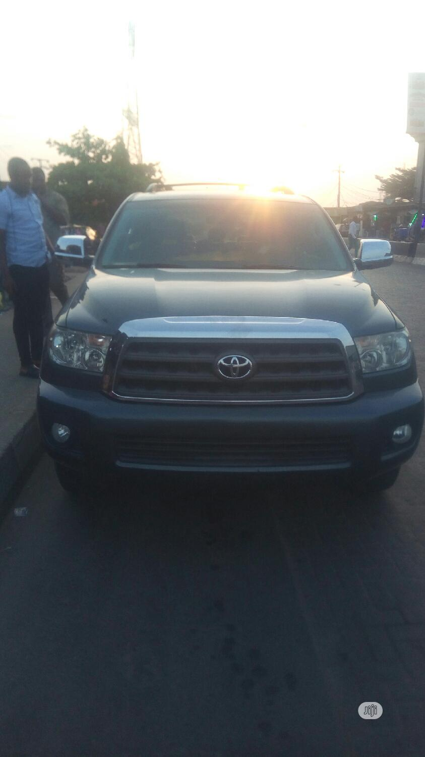 Toyota Sequoia 2010 Gray | Cars for sale in Isolo, Lagos State, Nigeria