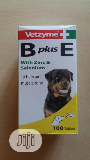 Vetzyme B Plus E Dog Multivitamin 100tabs | Pet's Accessories for sale in Lagos State, Agege