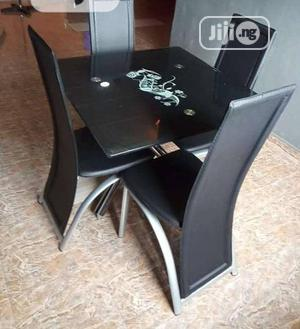 Simply Glass Dining Table by 4 | Furniture for sale in Lagos State, Ojo