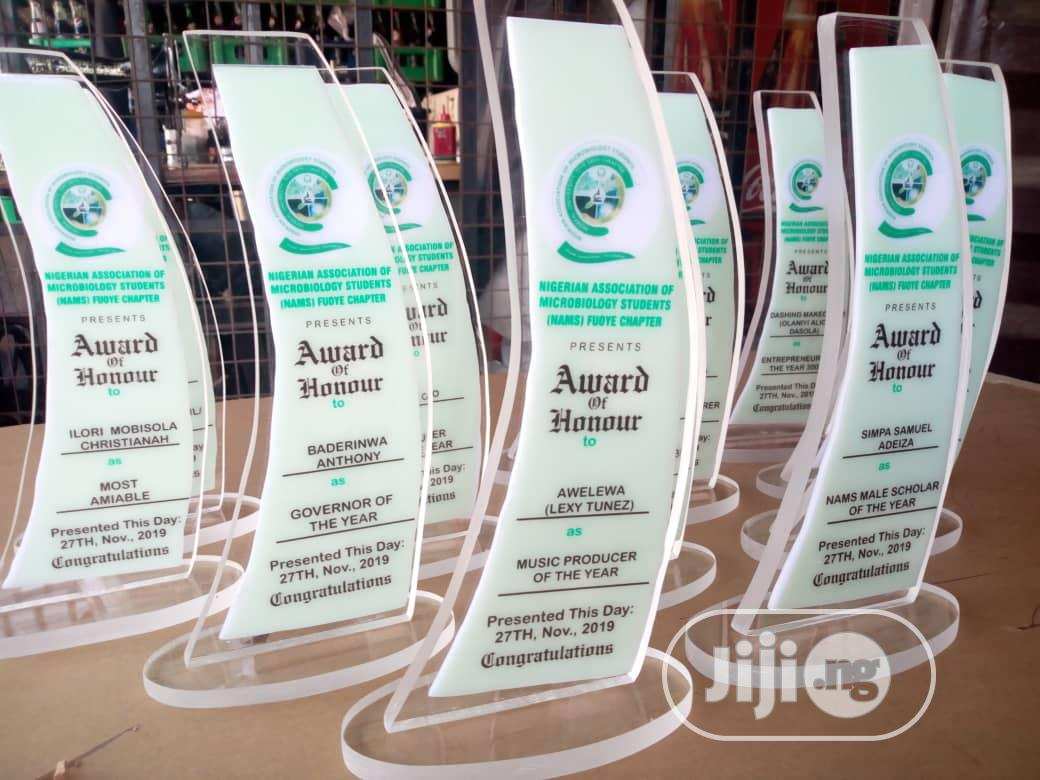 Acrylic And Wooden Awards