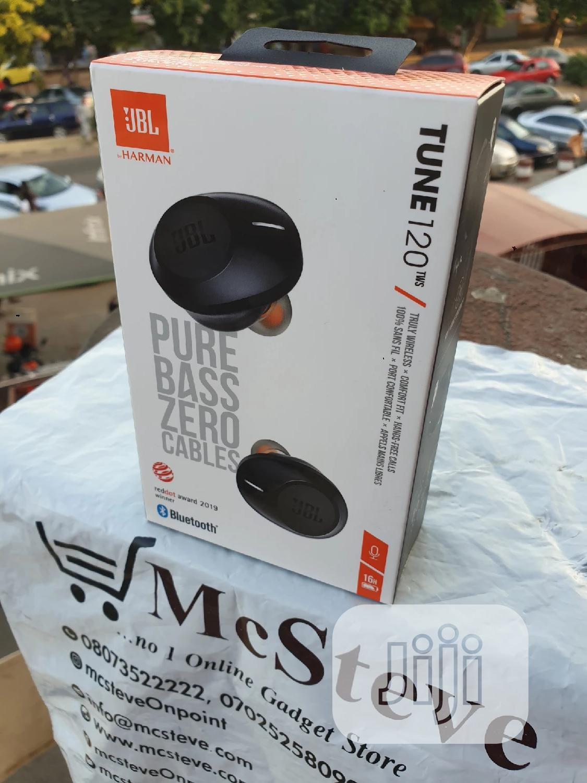 Jbl Tune 120 Pure Bass 100% Original | Headphones for sale in Wuse 2, Abuja (FCT) State, Nigeria