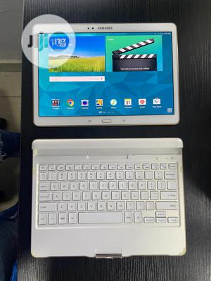 Samsung Galaxy Tab S 10.5 LTE 16 GB White | Tablets for sale in Lagos State, Ikeja