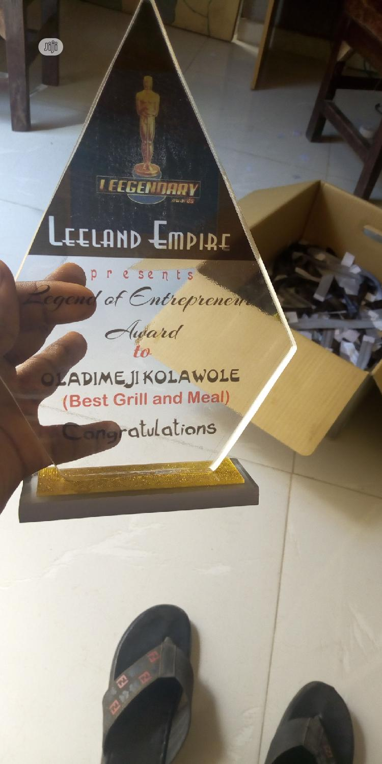 Acrylic And Wooden Awards   Arts & Crafts for sale in Ilorin West, Kwara State, Nigeria