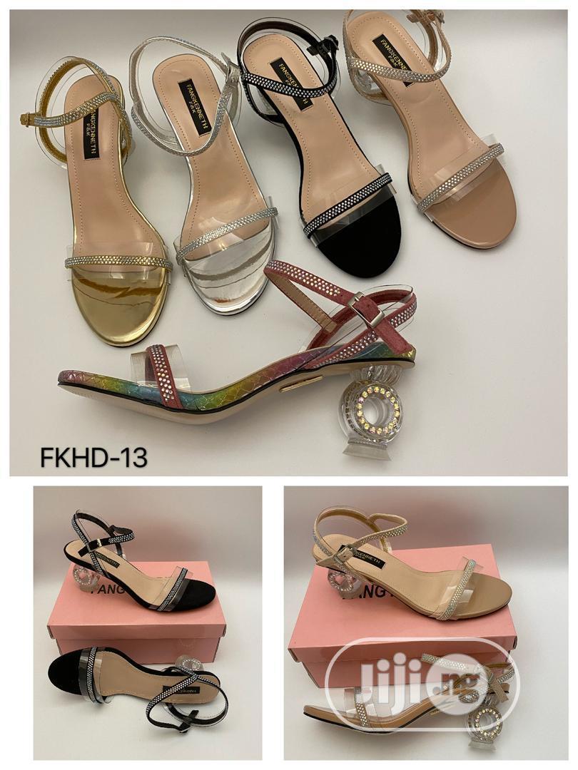 New Female Sandals Heel Shoes