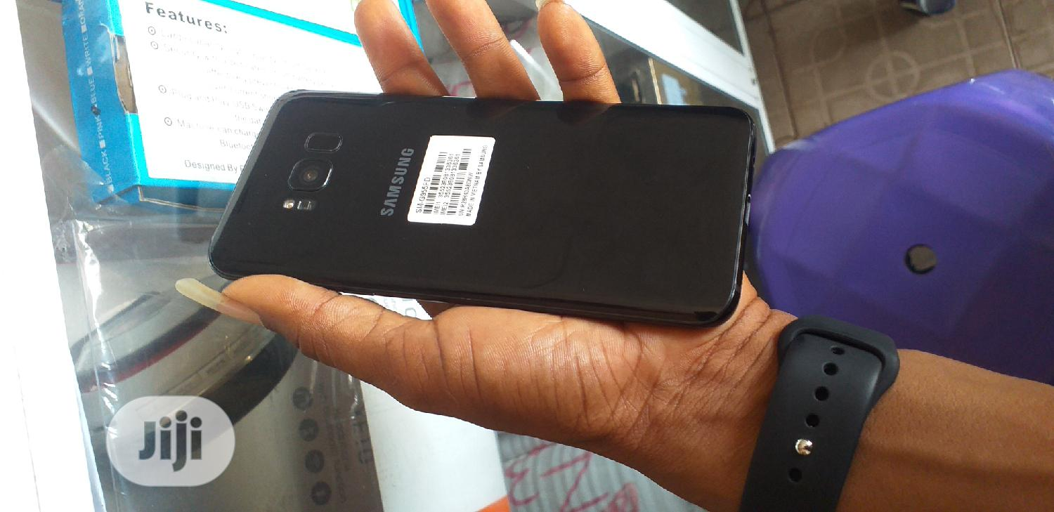 Samsung Galaxy S8 Plus 64 GB Black | Mobile Phones for sale in Ikeja, Lagos State, Nigeria