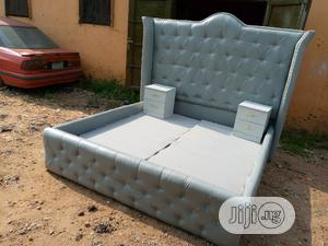 6by6 Feet Bed Frames With 2 Bedside Drawers   Furniture for sale in Lagos State, Magodo