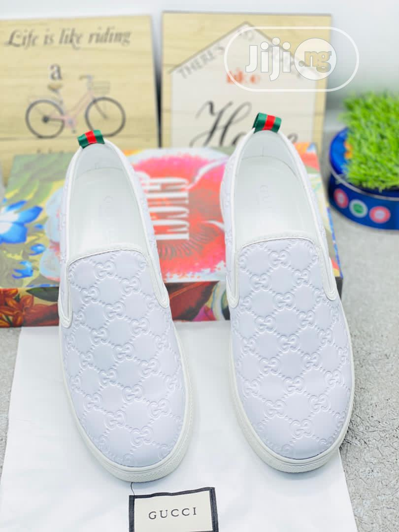 Gucci Canvas Sneaker Available Swipe to Pick Your Favorite   Shoes for sale in Lagos Island (Eko), Lagos State, Nigeria