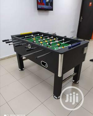 Standard Soccer Table Black | Sports Equipment for sale in Lagos State, Victoria Island