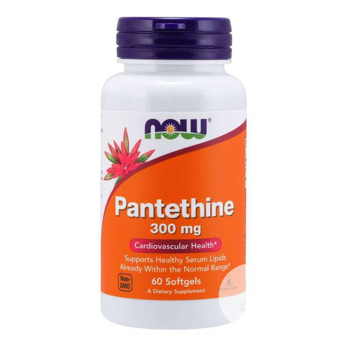 Now Pantethine 300mg for Cardiovascular Health