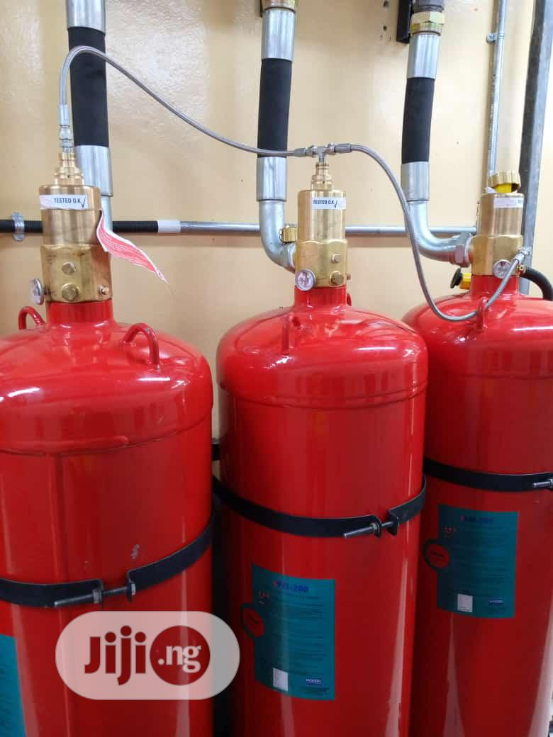 FM200 Fire Suppression System (Clean Agent)