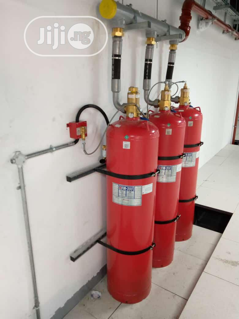 FM200 Fire Suppression System (Clean Agent) | Safetywear & Equipment for sale in Apapa, Lagos State, Nigeria