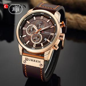 CURREN Leather Chronograph | Watches for sale in Rivers State, Obio-Akpor
