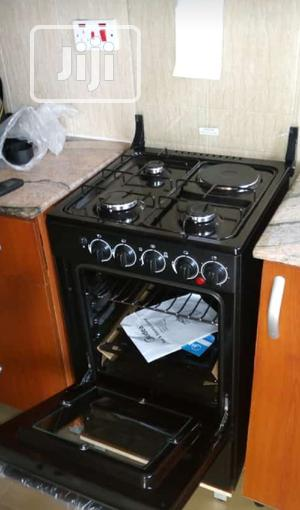 Midea Free Standing 3 Gas +1 Electric Gas Cooker With Oven   Kitchen Appliances for sale in Lagos State, Ojo