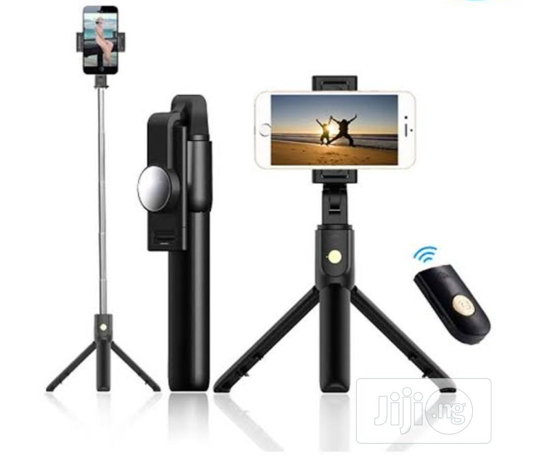 Selfie Stick With Tripod Stand | Accessories for Mobile Phones & Tablets for sale in Ikeja, Lagos State, Nigeria