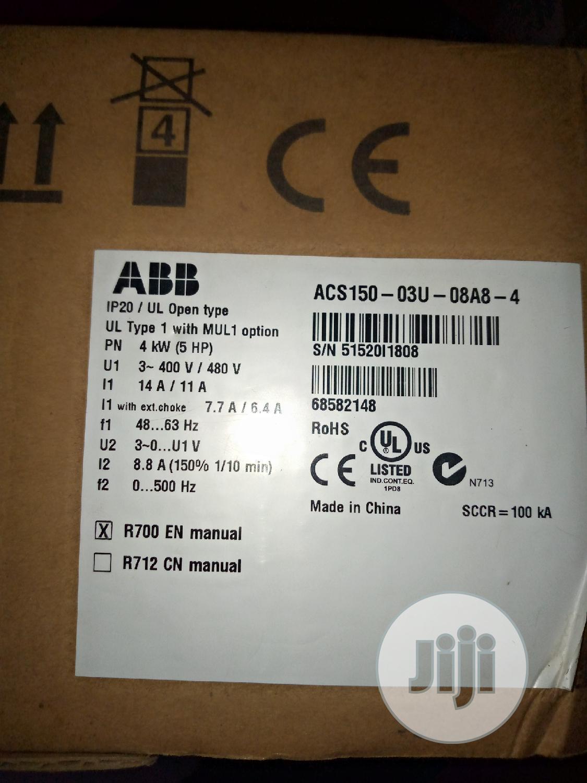 Archive: ABB 4kw 5hp