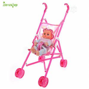 Baby Doll Stroller Nursery Furniture Toys Baby Dolls Carriag | Toys for sale in Lagos State, Ojodu