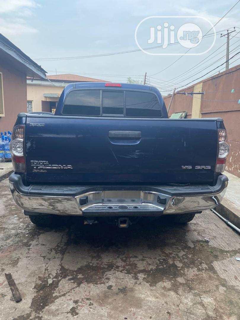 Toyota Tacoma 2008 4x4 Double Cab Blue | Cars for sale in Oluyole, Oyo State, Nigeria