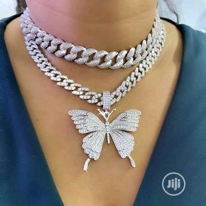 Butterfly Cuban And Bracelet   Jewelry for sale in Delta State, Warri