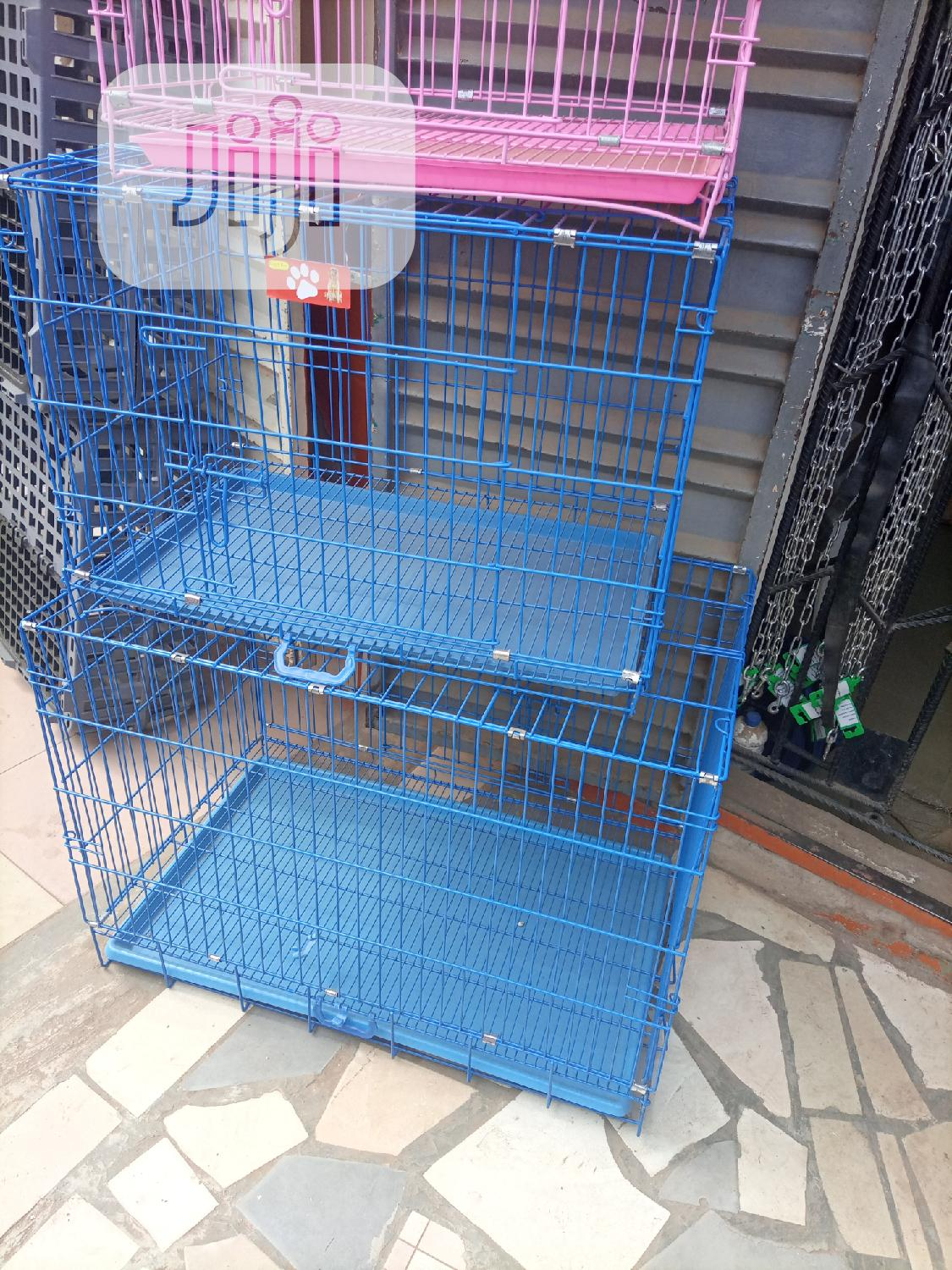 Collapsible Sizes Cages Is Available | Pet's Accessories for sale in Surulere, Lagos State, Nigeria