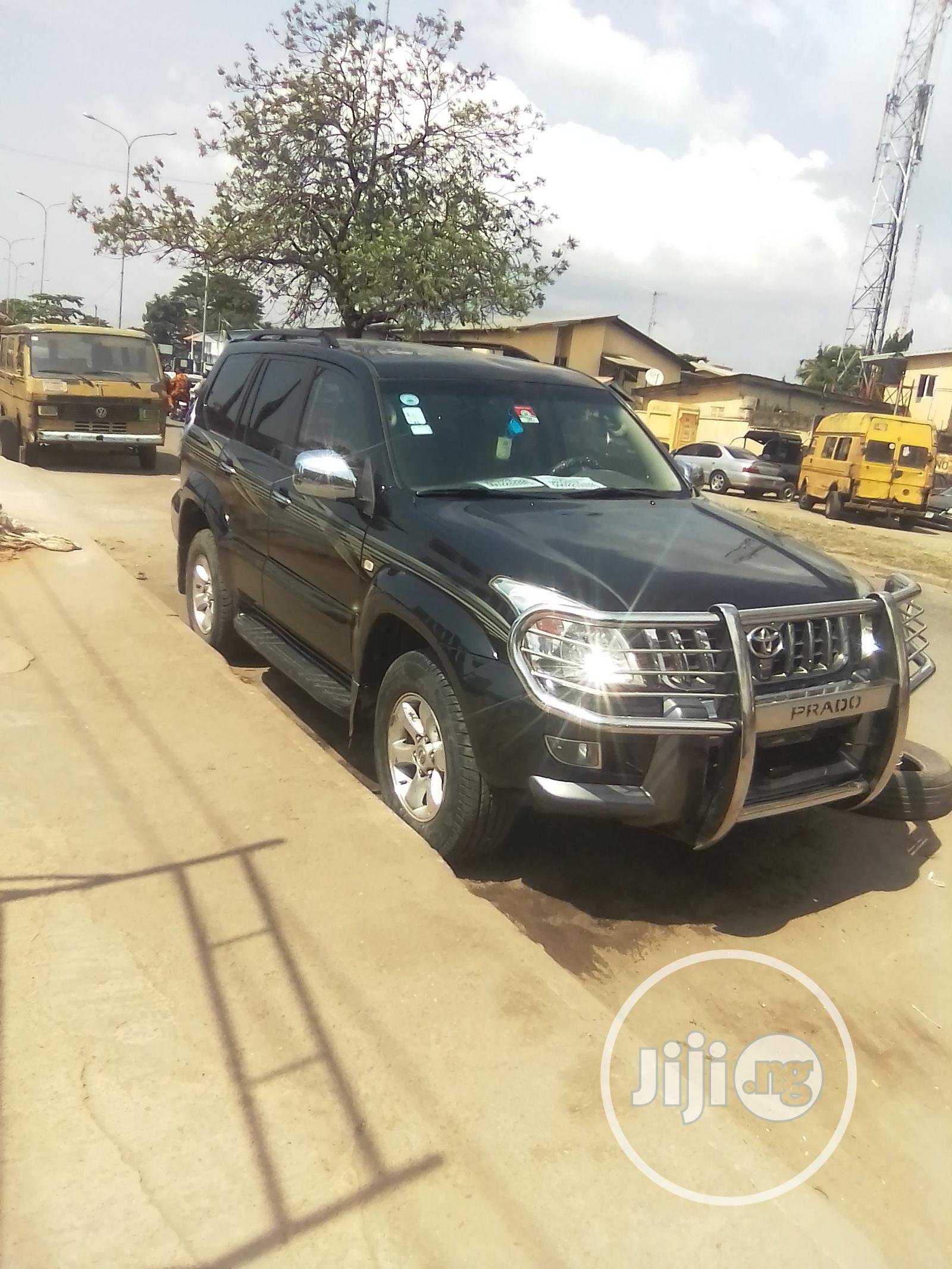 Toyota Land Cruiser Prado 2008 Black | Cars for sale in Amuwo-Odofin, Lagos State, Nigeria