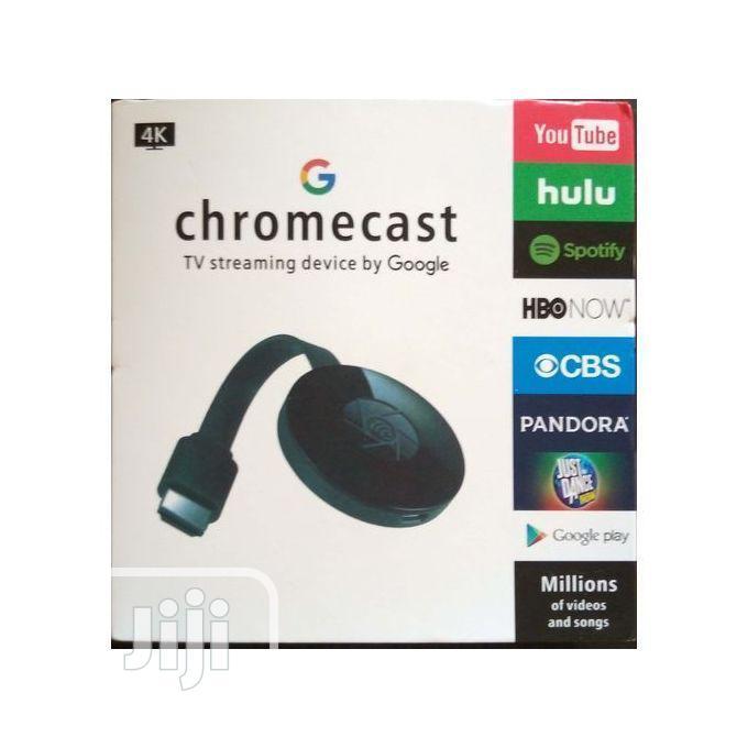 Archive: Google Chromecast TV Streaming Device.