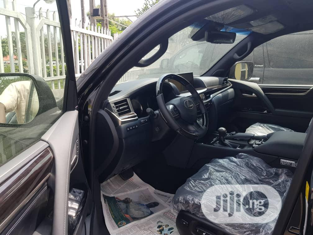New Lexus LX 2020 570 Three-Row Black | Cars for sale in Shomolu, Lagos State, Nigeria