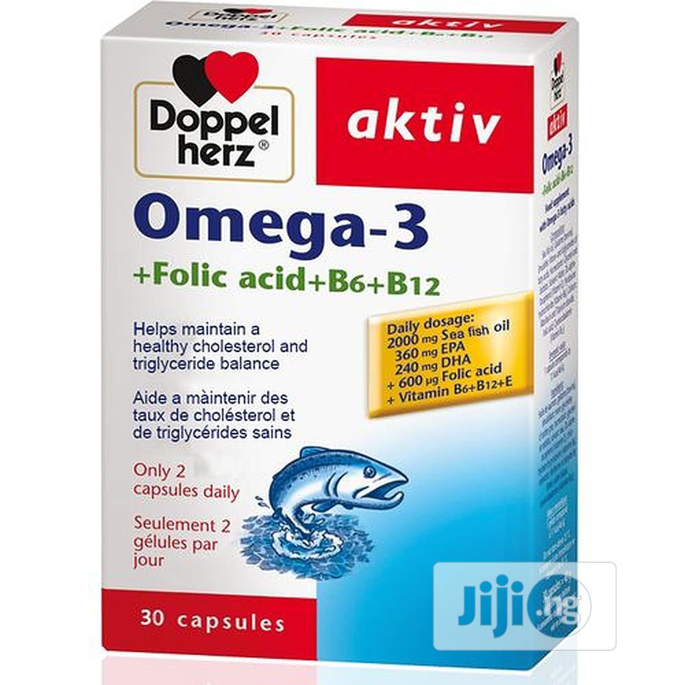 Doppelherz Aktiv Omega-3 Folic Acid, B6+B12