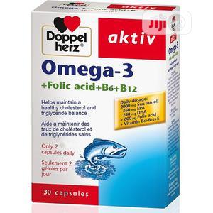 Doppelherz Aktiv Omega-3 Folic Acid, B6+B12   Vitamins & Supplements for sale in Lagos State, Alimosho