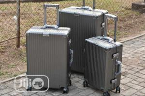 Unique Aluminum Travel Luggage Set Of 3 | Bags for sale in Lagos State, Lagos Island (Eko)