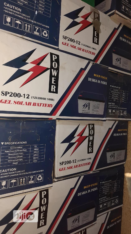 200ah 12v Ss-power Solar Battery