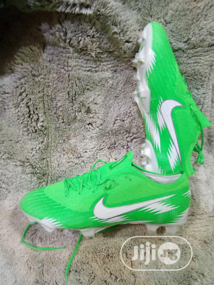 Nike Green Football Boots