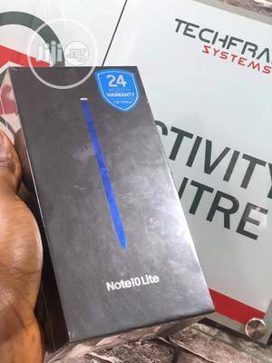 New Samsung Galaxy Note 10 Lite 128 GB Black | Mobile Phones for sale in Lagos State, Ikeja