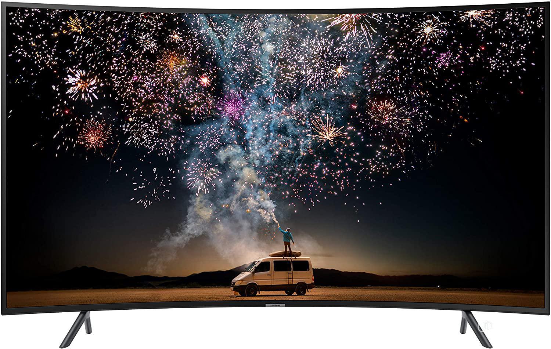 "Samsung 55"" RU7300 Curved Smart 4K UHD TV Series 7 | TV & DVD Equipment for sale in Ojo, Lagos State, Nigeria"