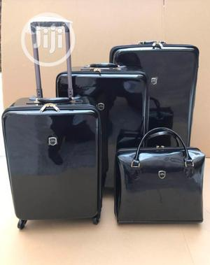 Glossy Travel Luggage | Black | Bags for sale in Lagos State, Ikeja