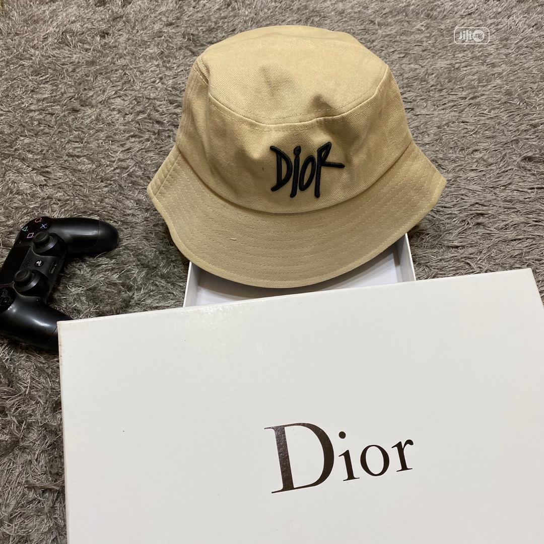 Original Christian Dior Bucket Hat Cap Available | Clothing Accessories for sale in Surulere, Lagos State, Nigeria
