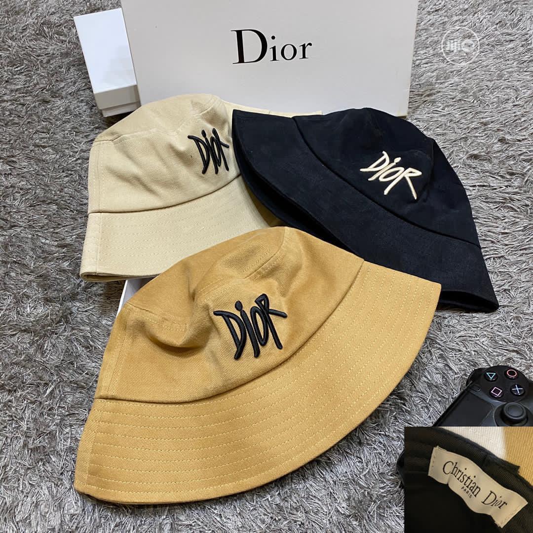 Original Christian Dior Bucket Hat Cap Available