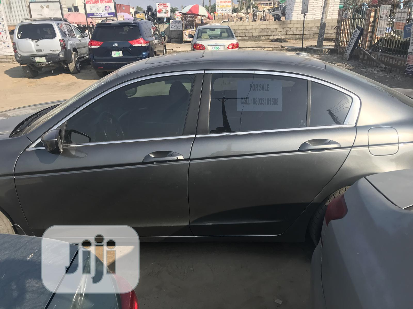 Honda Accord 2008 2.0i-VTEC Executive Gray | Cars for sale in Ajah, Lagos State, Nigeria