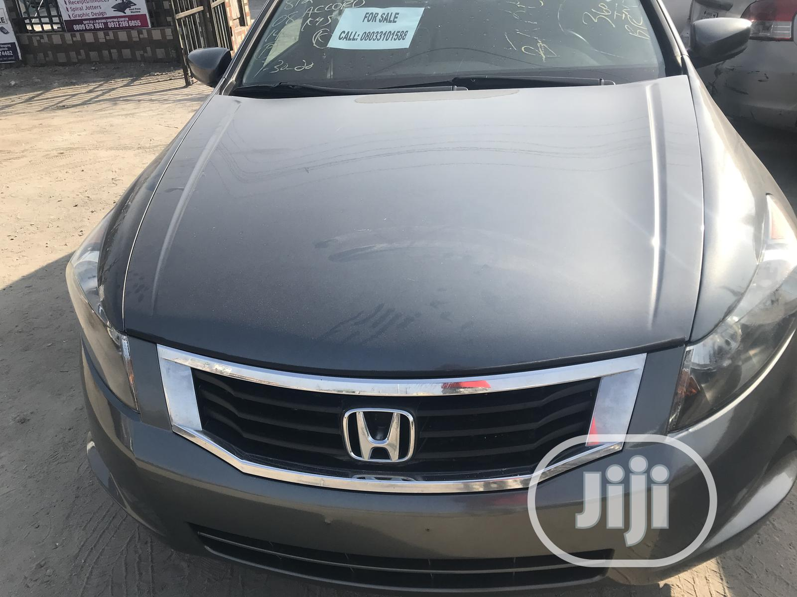 Honda Accord 2008 2.0i-VTEC Executive Gray