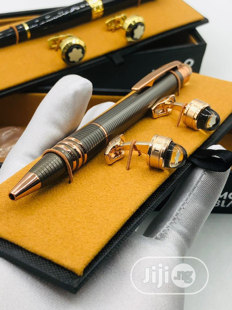 High Quality Omega Pen And Cufflinks
