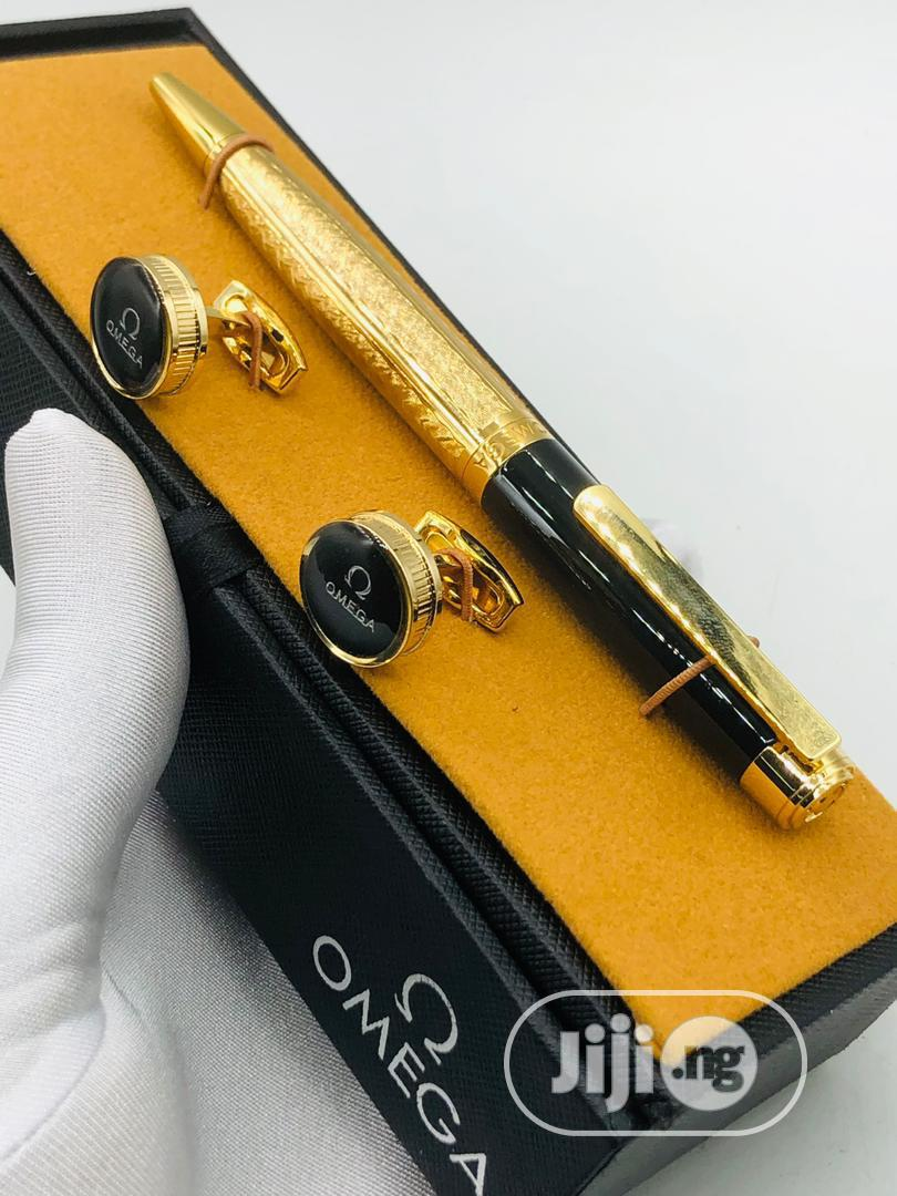High Quality Omega Pen And Cufflinks   Clothing Accessories for sale in Magodo, Lagos State, Nigeria
