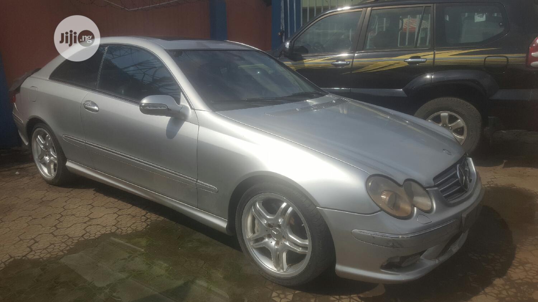 Archive: Mercedes-Benz CLK 2005 Silver