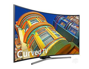 At 2021>LG 65''inch CURVED 4K UHD Tv>Netflix With Free Bracket | TV & DVD Equipment for sale in Lagos State, Ojo