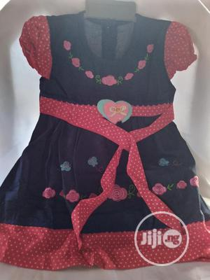 Baby Girl Jeans Gown | Children's Clothing for sale in Lagos State, Ipaja