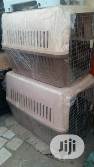 Pet Travel Crate Kennel   Pet's Accessories for sale in Lagos State, Agege