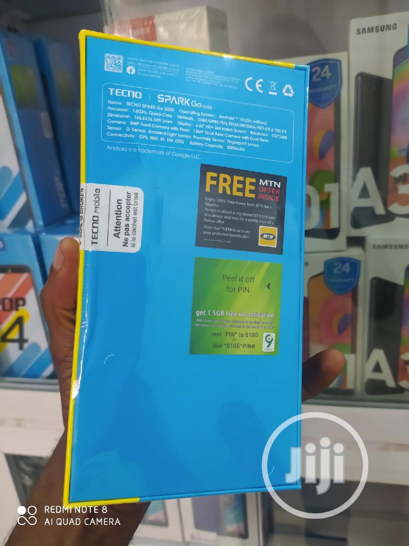 New Tecno Spark Go 2020 32 GB Black | Mobile Phones for sale in Ikeja, Lagos State, Nigeria