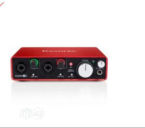 Focusrite Scarlett 2i2 2 In/2 Out USB Recording Audio   Audio & Music Equipment for sale in Lagos State, Ojo