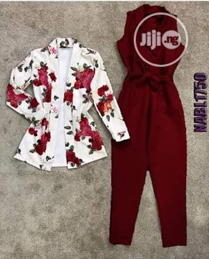 Ladies Collared Blazer Jumpsuit   Clothing for sale in Lagos State, Ikeja