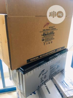 12v 200ah Rita Battery Is Now Available In   Solar Energy for sale in Lagos State, Ojo
